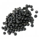 Wooden beads, 4.5x6mm rondelles, black, 20g