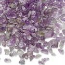 Embellishment, amethyst, mini-chip, undrilled. Sold per pkg of 25 grams.
