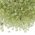 Embellishment, peridot, mini-chip, undrilled. Sold per pkg of 25 grams.