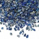 Embellishment, lapis lazuli, mini-chip, undrilled. Sold per pkg of 25 grams.