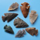 Natural fancy jasper focals, arrow heads