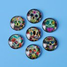 14mm round image cabochons, glass