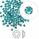 Swarovski flat back strass, 2.5-2.7mm, blue zircon, 20st