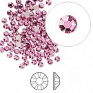 Swarovski flat back strass, 2.5-2.7mm, rose, 20st