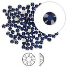 Swarovski flat back strass, 2.5-2.7mm, dark indigo, 20st