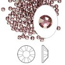 Swarovski flat back strass, 2.5-2.7mm, crystal antique pink, 20st