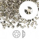 Swarovski flat back strass, 2.5-2.7mm, crystal metallic light gold, 20st