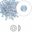 Swarovski flat back strass, 2.5-2.7mm, air blue opal, 20st