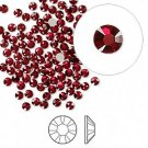 Swarovski flat back strass, 2.5-2.7mm, Siam, 20st
