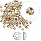 Swarovski flat back strass, 2.5-2.7mm, light Colorado topaz, 20st