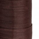Waxes synthetic cord, dark brown