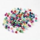 Bead mix - Carnival, 3-4mm glass pearls, 10g - about 220 beads