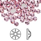 Swarovski flatback strass, 7-7.3mm, light rose, 2st