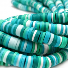 heishi,beads,spacers,polymer
