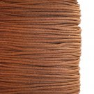 Imitation silk cord, 1mm, brown, 5m