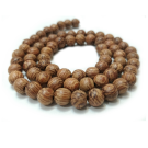 sandalwood,6mm,brown,wood,beads,dyed