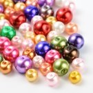 Round glass pearls