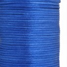 Satin cord, rattail, 2mm, dark blue, 5m