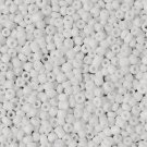 Seed beads, 2mm, white