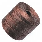 S-LON/Superlon, C-LON nylon thread/cord, brown