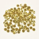 Glass rhinestone, 2mm, chaton, Jonquil, 1g- approx. 155pcs
