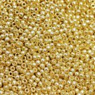 TOHO seed beads, storlek 11/0 (2.2mm), Permanent Finish - Galvanized Starlight, 10g