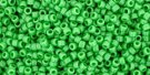 TOHO seed beads, storlek 15/0 (1.5mm), Opaque Mint Green, 5g