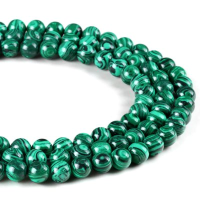 bead,malachite,imitation,gem