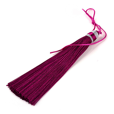 Tassels for malas, yoga jewelry and rosaries, purple