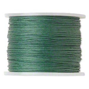 Green cotton cord