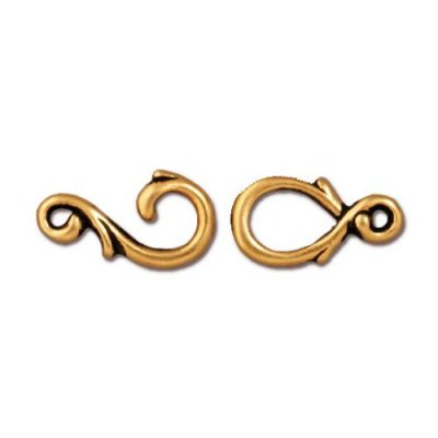 hook,clasp,antique,gold