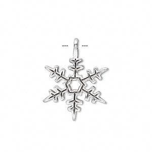 snowflakes,silverplated