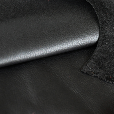 Vegetably tanned reindeer leather, black
