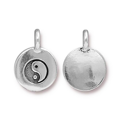 Tierra Cast charm, Yin and yang