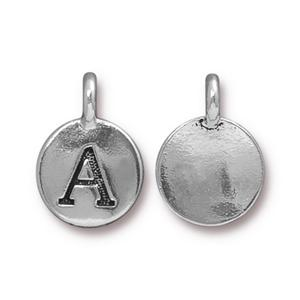 Tierra Cast charm, letter A