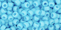TOHO seed beads, storlek 8/0 (3.1mm), Opaque Blue Turquoise, 10g