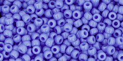 TOHO seed beads, storlek 11/0 (2.2mm), Opaque Periwinkle, 10g